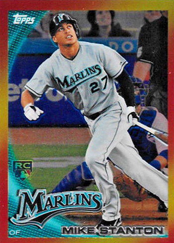 2010 Topps Red Hot Rookies Mike Stanton