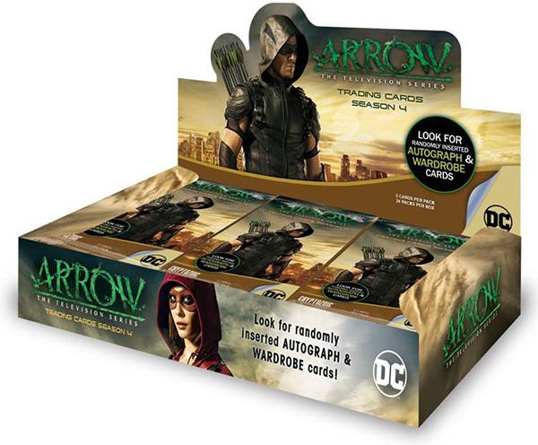 2017 Cryptozoic Arrow Season 4 Box