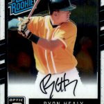 2017 Donruss Optic Baseball Autographs Rated Rookie Ryon Healy