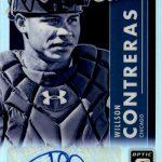 2017 Donruss Optic Baseball Autographs Studio Signature Willson Contreras