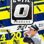 2017 Donruss Optic Baseball Hobby Box