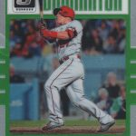 2017 Donruss Optic Baseball Inserts Dominator Mike Trout