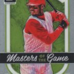 2017 Donruss Optic Baseball Inserts Masters of the Game Ken Griffey Jr
