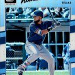 2017 Donruss Optic Baseball Parallel Carolina Blue