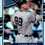 2017 Donruss Optic Baseball Parallel Holo Judge