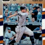 2017 Donruss Optic Baseball Parallel Orange Longoria