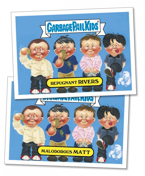 2017 Topps Garbage Pail Kids Best of the Fest