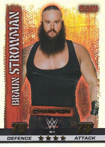 10th Edition-Nº 86-Big Show-Raw Wwe Slam Attax