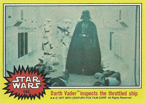1977 Topps Star Wars Series 3 142