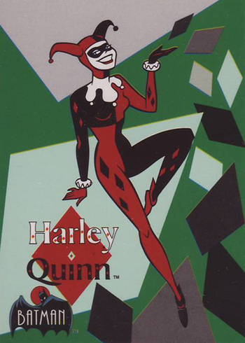 1993 Topps Batman: The Animated Series trading cards Harley Quinn Rookie Card