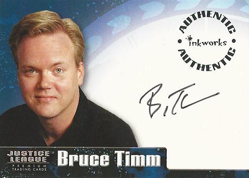 2003 Inkworks Justice League Bruce Timm Autograph