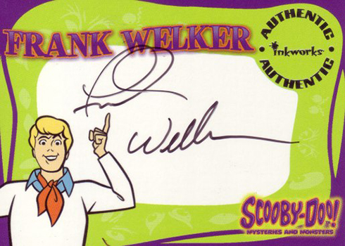 2003 Inkworks Scooby-Doo: Mysteries and Monsters Frank Welker Autograph