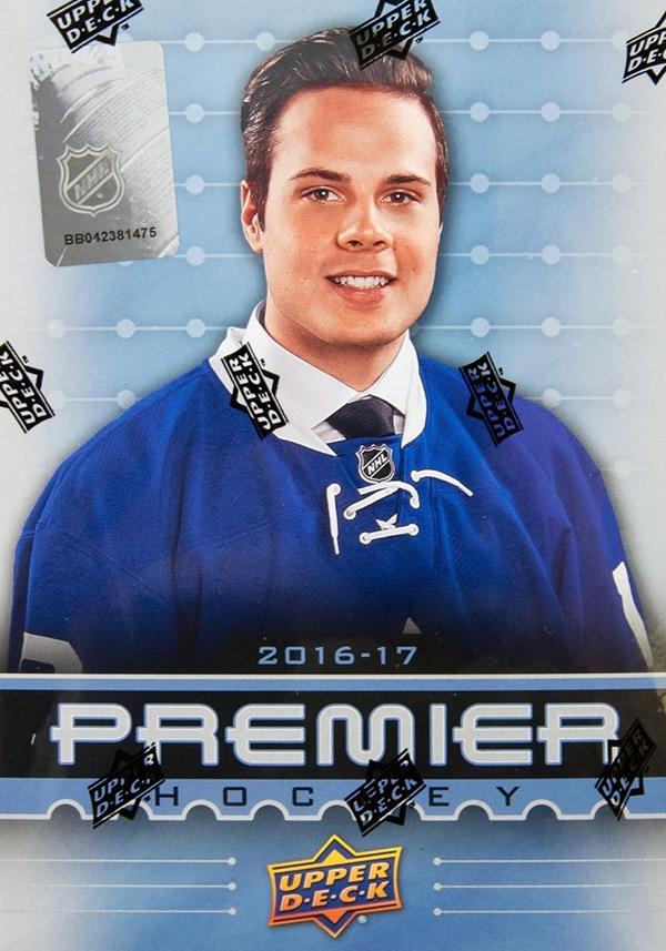 2016-17 Upper Deck Premier Hockey Box