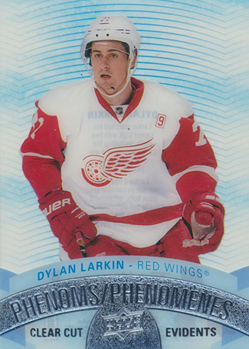 2017-18 Upper Deck Tim Hortons Hockey Clear Cut Phenoms Dylan Larkin