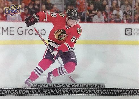 2017-18 Upper Deck Tim Hortons Hockey Triple Exposure Patrick Kane