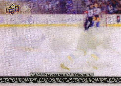 2017-18 Upper Deck Tim Hortons Hockey Triple Exposure Vladimir Tarasenko