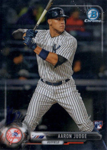 2017 Bowman Chrome Aaron Judge RC