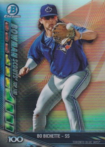 2017 Bowman Chrome Baseball Bowman Scouts' Updates Bo Bichette