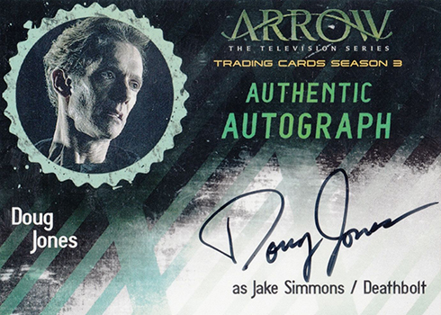 2017 Cryptozoic Arrow Season 3 Doug Jones Autograph