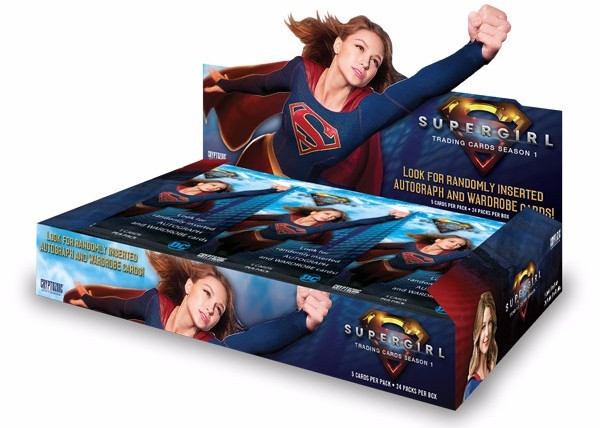 2018 Cryptozoic Supergirl Season 1 Trading Cards Box