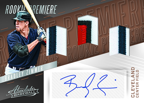 2017 Panini Chronicles Baseball Rookie Premiere Materials Autographs