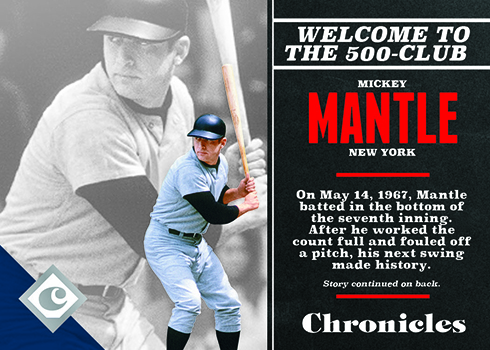 2017 Panini Chronicles Baseball Base Mickey Mantle