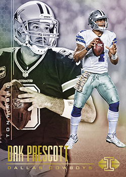 2017 Panini Illusions Football Dak Prescott