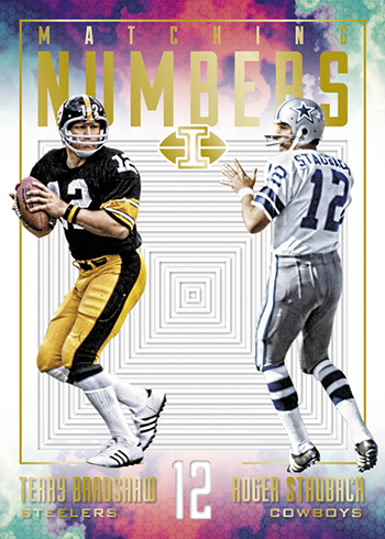 2017 Panini Illusions Football Matching Numbers