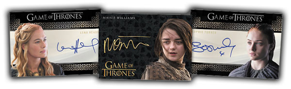 2017 Rittenhouse Game of Thrones Valyrian Steel Autographs