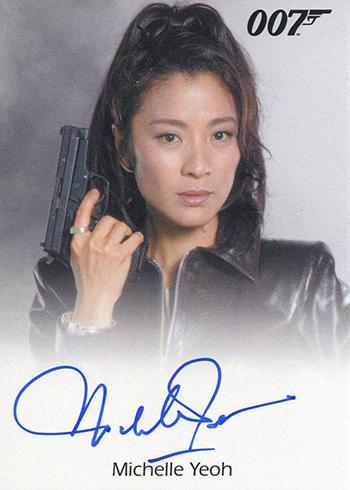 2017 Rittenhouse James Bond Archives Final Edition Michelle Yeoh Autograph
