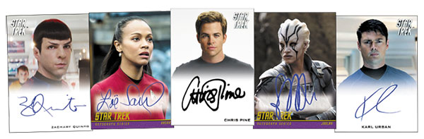 2017 Rittenhouse Star Trek Beyond Autographs