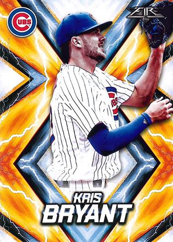 2017 Topps Fire Baseball Kris Bryant