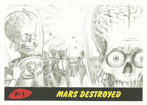 2017 Topps Mars Attacks: The Revenge Base P-1