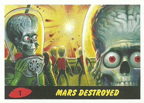 2017 Topps Mars Attacks: The Revenge 1 Mars Destroyed