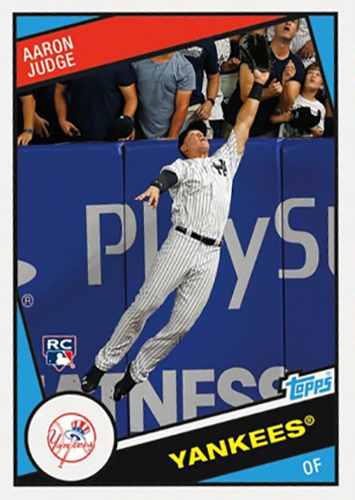 2017 Topps Throwback Thursday 116 Aaron Judge