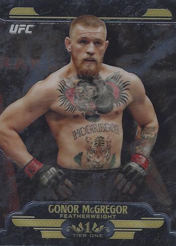 2017 Topps UFC Chrome Tier One Conor McGregor