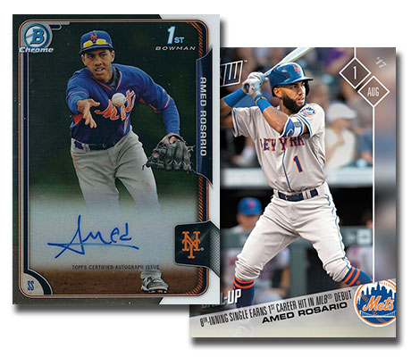 Amed Rosario Rookie Card Guide