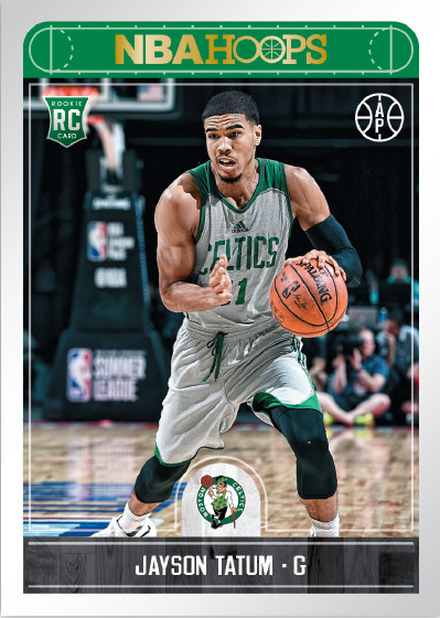2017-18 NBA Hoops Basketball Jayson Tatum