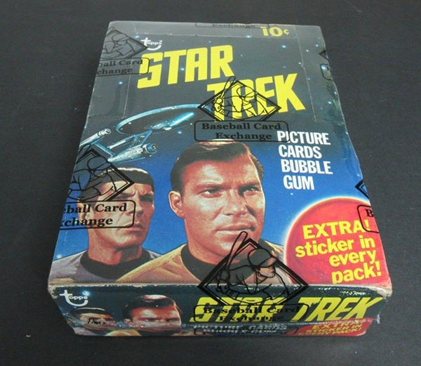 1976 Topps Star Trek Box - Baseball Card Exchange, Oct 2017