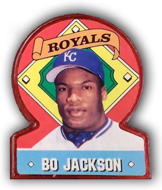 1991 Topps Stand Ups Bo Jackson