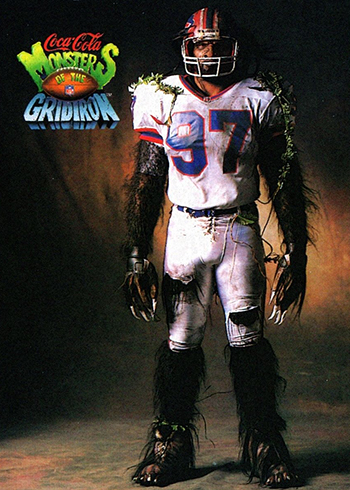 1993 Coke Monsters of the Gridiron Cornelius Bennett
