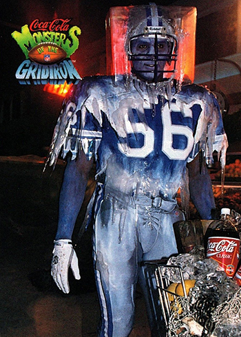 1993 Coke Monsters of the Gridiron Pat Swilling