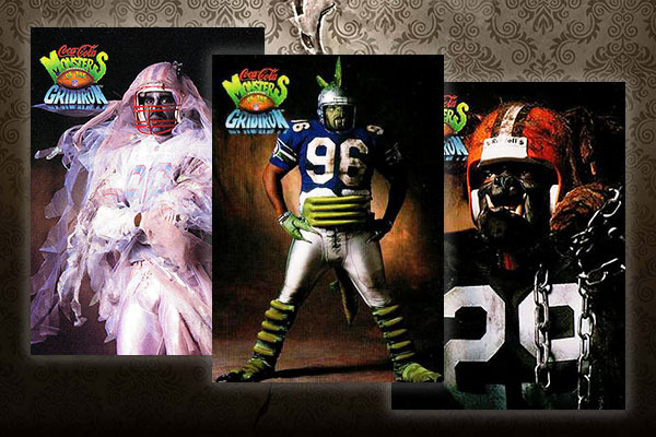 1993 Coke Monsters of the Gridiron Football