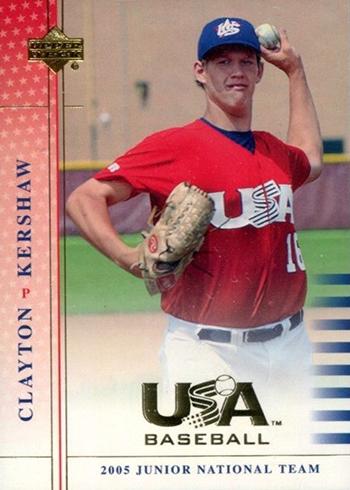 2005-06 Upper Deck USA Baseball Clayton Kershaw