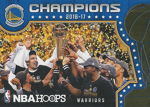 2017-18 NBA Hoops Basketball Champions SP