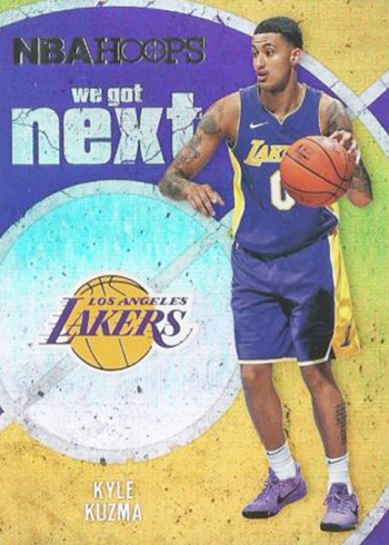 2017-18 NBA Hoops Basketball We Got Next Kyle Kuzma