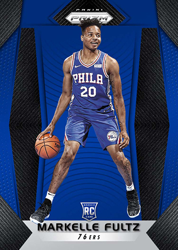 2017-18 Panini Prizm Basketball Markelle Fultz Blue