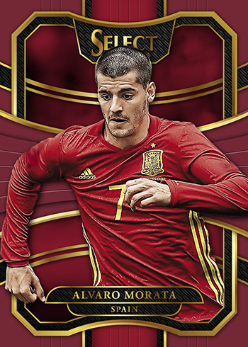 2017-18 Select Soccer Maroon Alvaro Morata