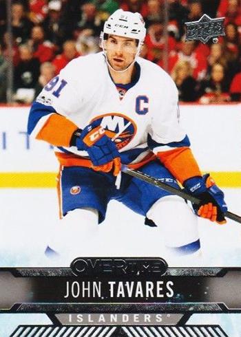 2017-18 Upper Deck Overtime Hockey John Tavares