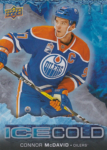 2017-18 Upper Deck Overtime Hockey Ice Cold Connor McDavid